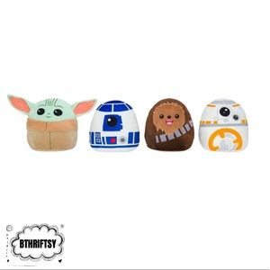 "5"" Squishmallow Star Wars Complete Set"